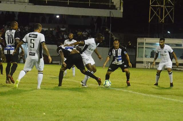 Central empata com o Ceará e está fora da Copa do Brasil 2019