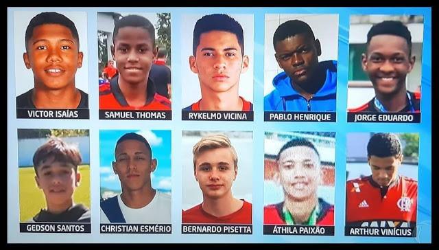 Identificados os 10 atletas mortos e os 3 feridos no incêndio no CT do Flamengo