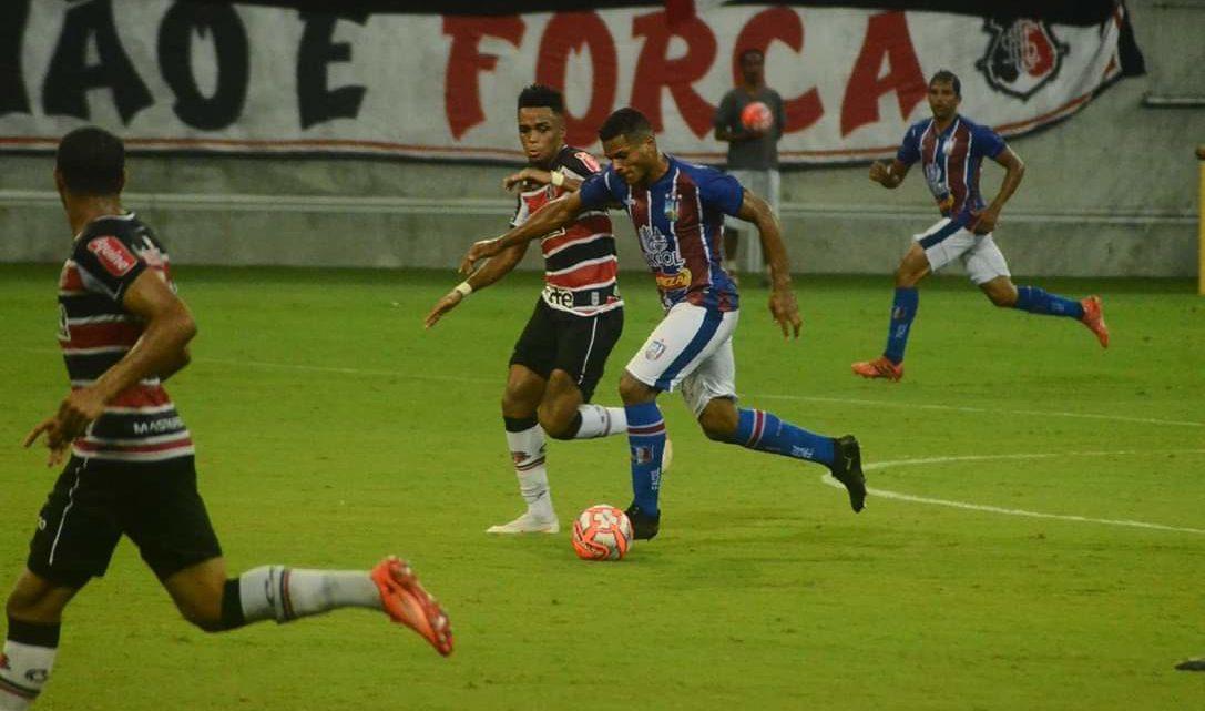Santa Cruz perde invencibilidade para o Vitória/PE na Arena
