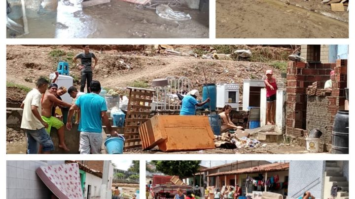 Campanha emergencial para atingidos pela chuva em Sanharó