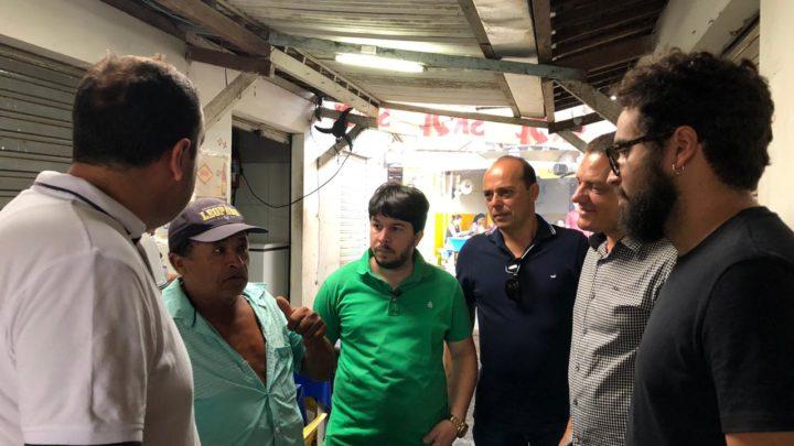Vereadores de Oposição visitam Feira Livre de Caruaru