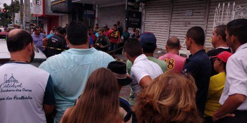 Identificado flanelinha que foi assassinado no centro de Caruaru