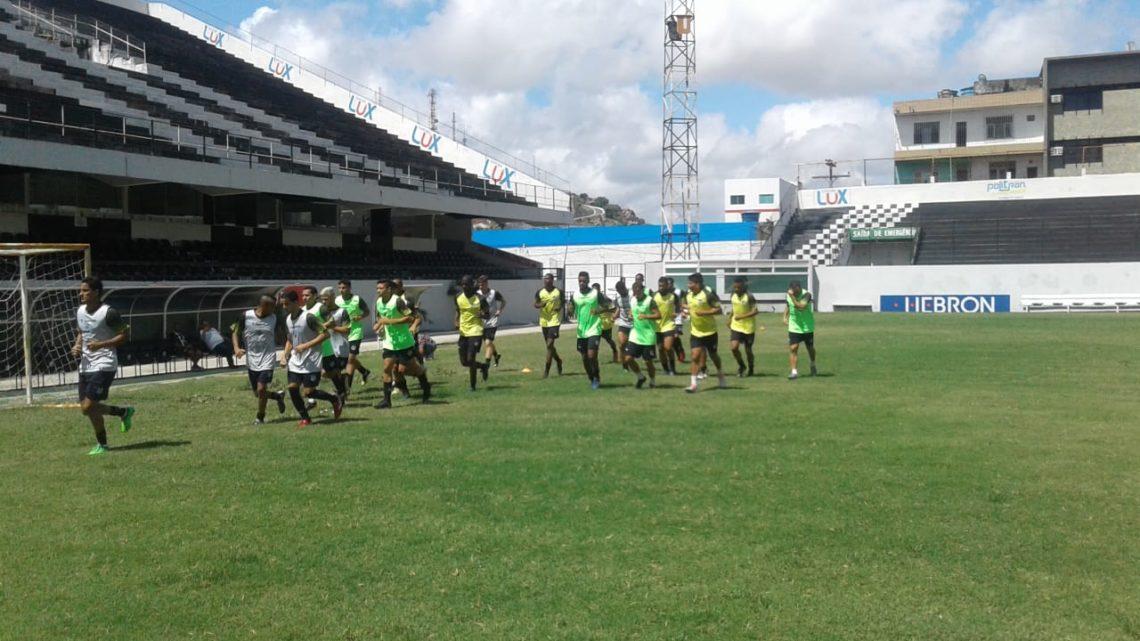 Central vai realizar jogo-treino no Lacerdão sábado (9)