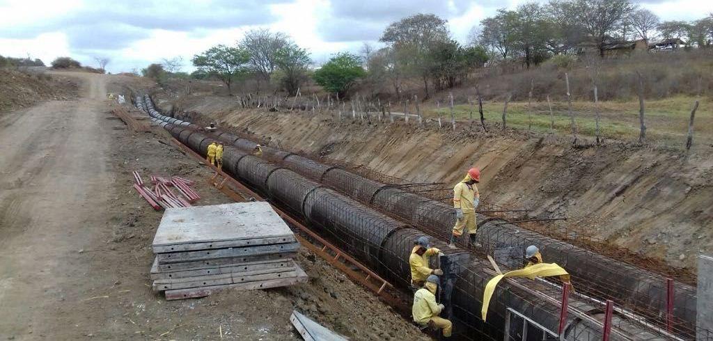 Sanharó começa a receber água do Rio São Francisco em fase de testes