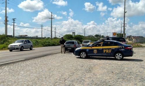 Operação Carnaval está sendo realizada pela Polícia Rodoviária Federal