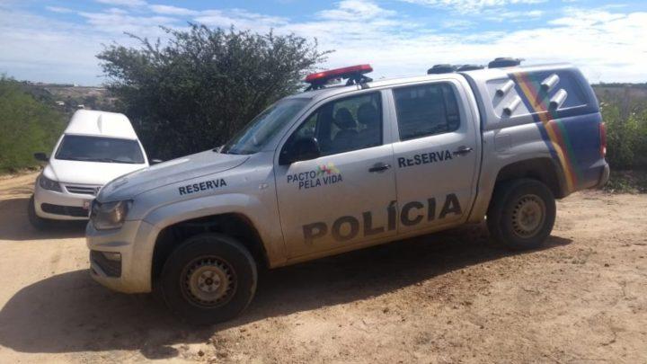 Jovem é assassinado a tiros na zona rural de Caruaru