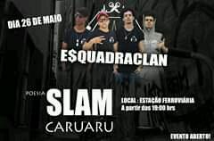Slam Caruaru será realizado na Estação Ferroviária domingo (26)
