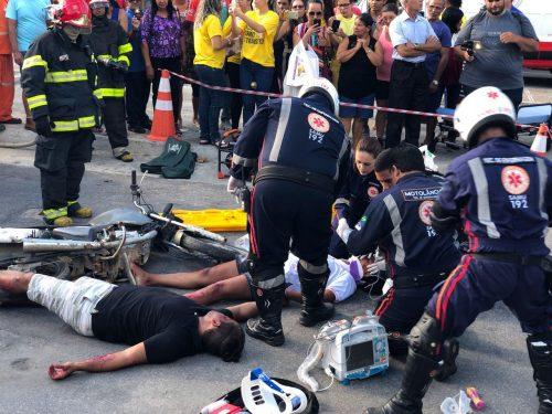 Simulação de acidente será realizada em Caruaru, dentro da programação do Maio Amarelo