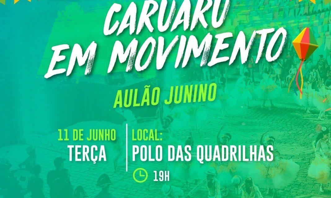 1° Aulão de Zumba e Fit Dance Junino em Caruaru nesta terça (11)