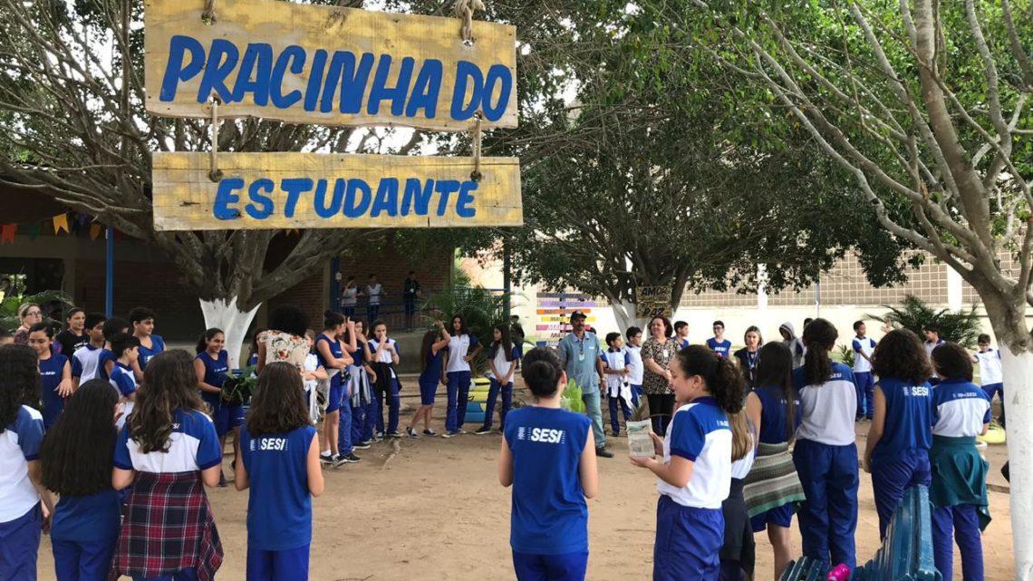 Sesi Caruaru inaugura Praça do Estudante no Dia do Meio Ambiente
