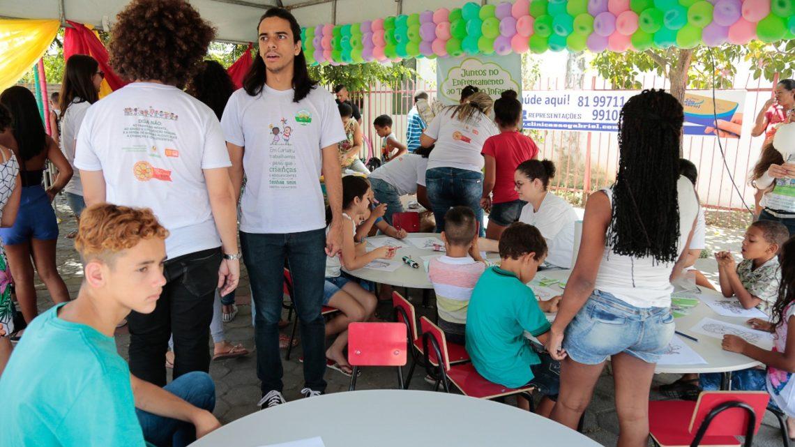 Dia Mundial de Combate ao Trabalho Infantil com ações em Caruaru nesta quarta (12)