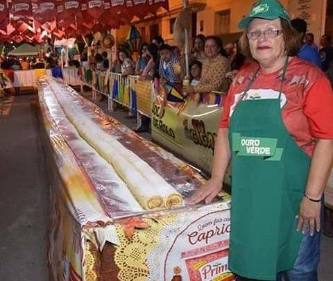 Festa do Bolo de Rolo Gigante em Caruaru neste sábado (15)