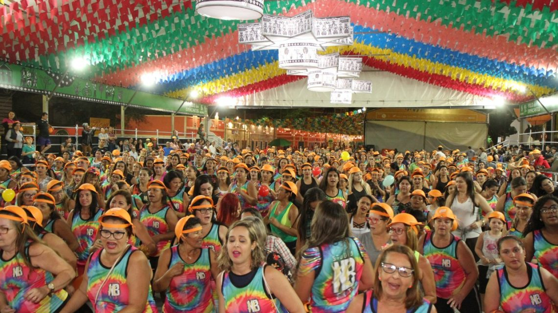 2° Aulão Junino de Zumba e ritmos em Caruaru nesta terça (18)