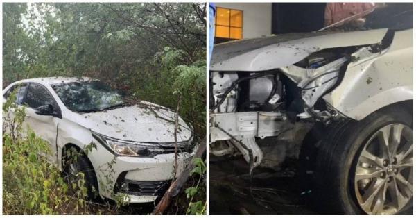 Cantor Batista Lima e esposa sofrem acidente
