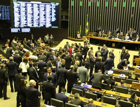 Plenário da Câmara dos Deputados aprova texto-base da reforma da Previdência em 1° turno