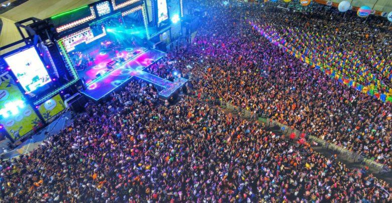 Mais de 3 milhões de pessoas passaram pelo São João de Caruaru