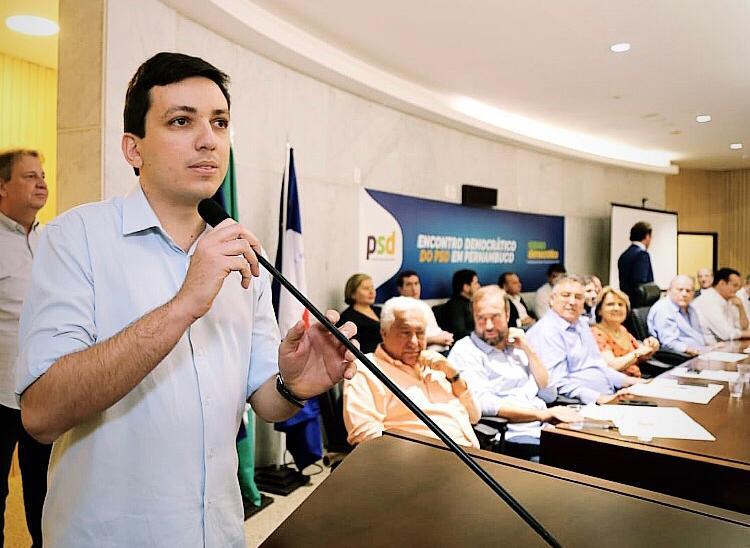 PSD lança pré-candidatura a prefeito de Caruaru