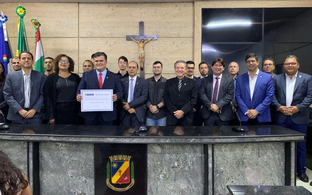 Joselito Kehrle Amaral recebe título de Cidadão Caruaruense