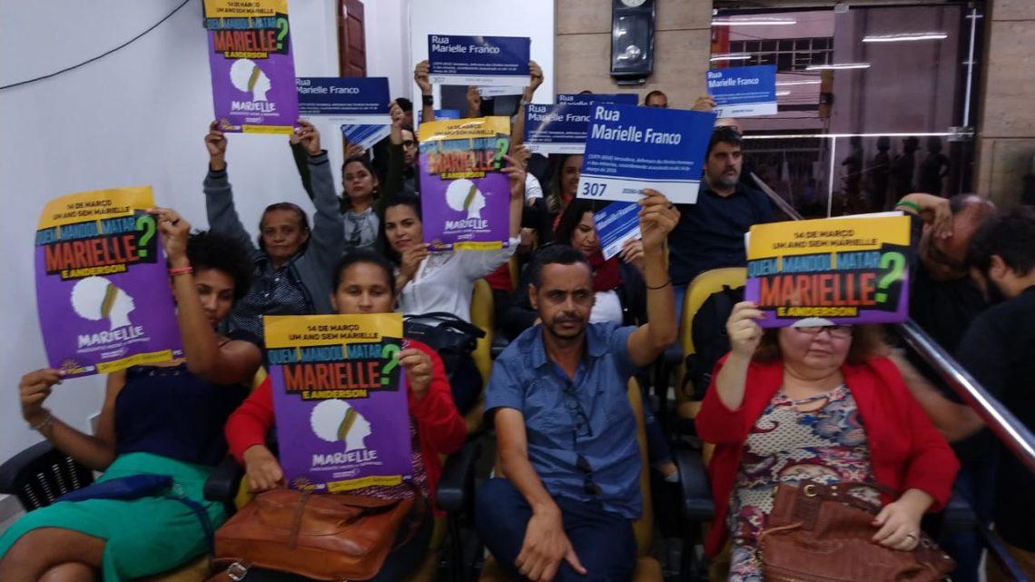 Avenida Marielle Franco aprovada na Câmara de Caruaru em segunda votação