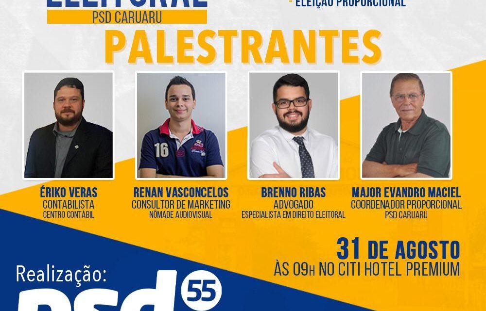 PSD Caruaru vai realizar Workshop para pré-candidatos a vereador