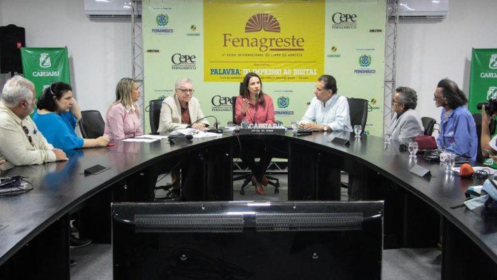 Veja as novidades da 4ª Feira Nacional do Livro do Agreste em Caruaru