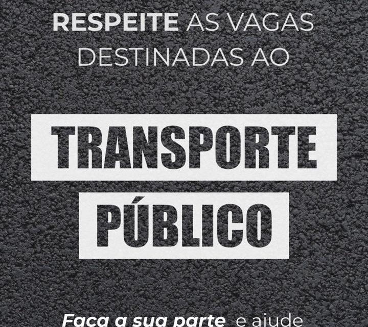 AETPC lança campanha de conscientização de estacionamento irregular em paradas de ônibus