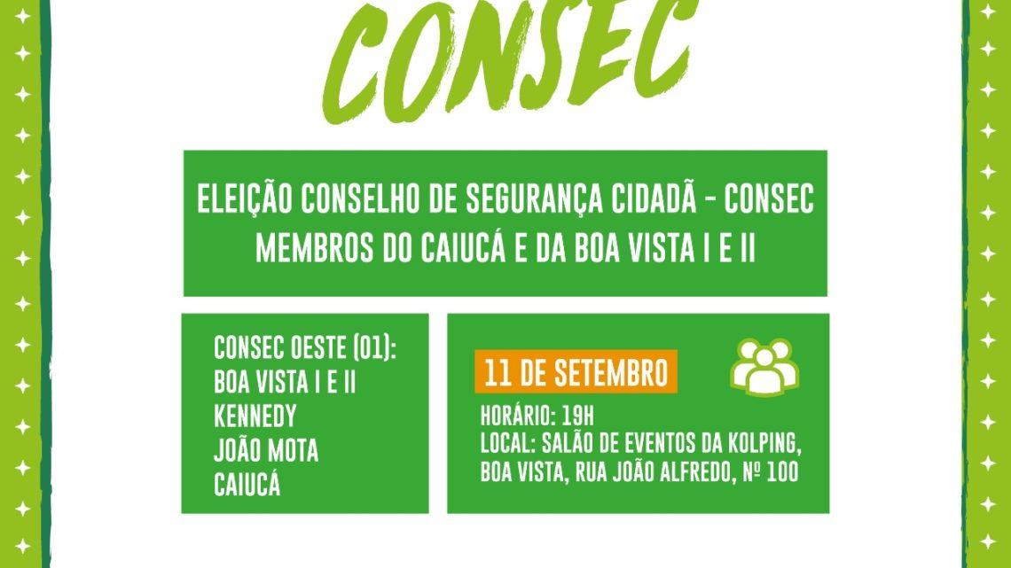 Moradores dos bairros Boa Vista, Kennedy, João Mota e Caiucá recebem reunião do CONSEC nesta quarta (11)