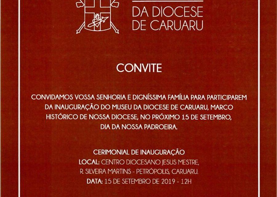 Museu da Diocese de Caruaru será inaugurado neste domingo (15)