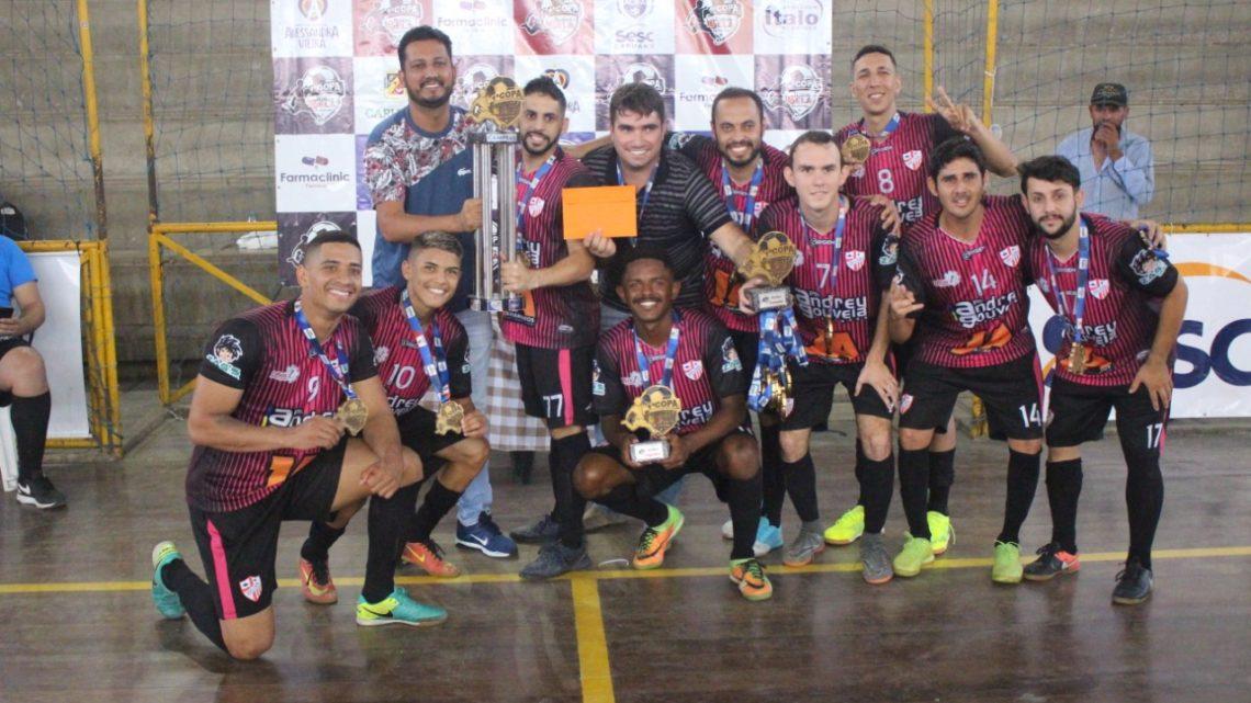 Via ADL/Independente é campeão da 1ª Copa ÍtalosBela de Futsal