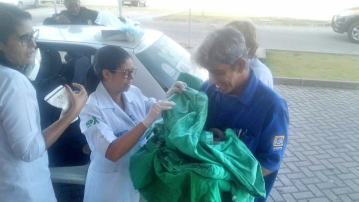 Mulher dá à luz em frente a unidade da PRF na Zona Oeste do Recife