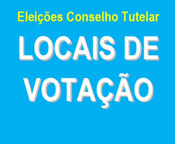 Confira os locais de votação na eleição dos Conselhos Tutelares de Caruaru domingo (6)