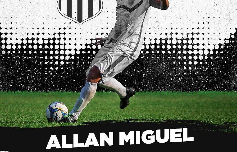 Central contrata zagueiro Allan Miguel para a temporada 2020