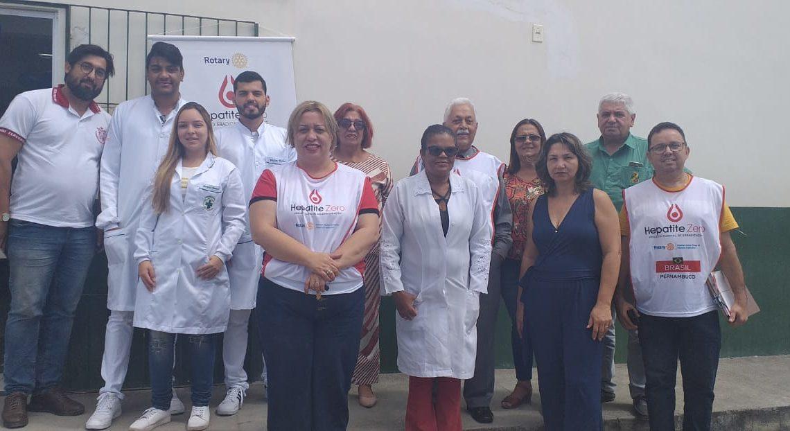 Rotary Caruaru Sul realiza ação no Residencial Luiz Bezerra Torres