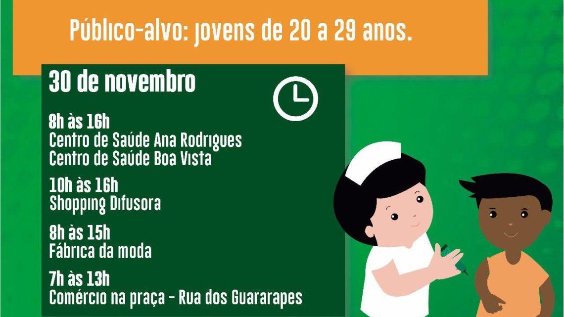 """Dia D"""" da Campanha Nacional de Vacinação contra Sarampo será sábado (30)"""