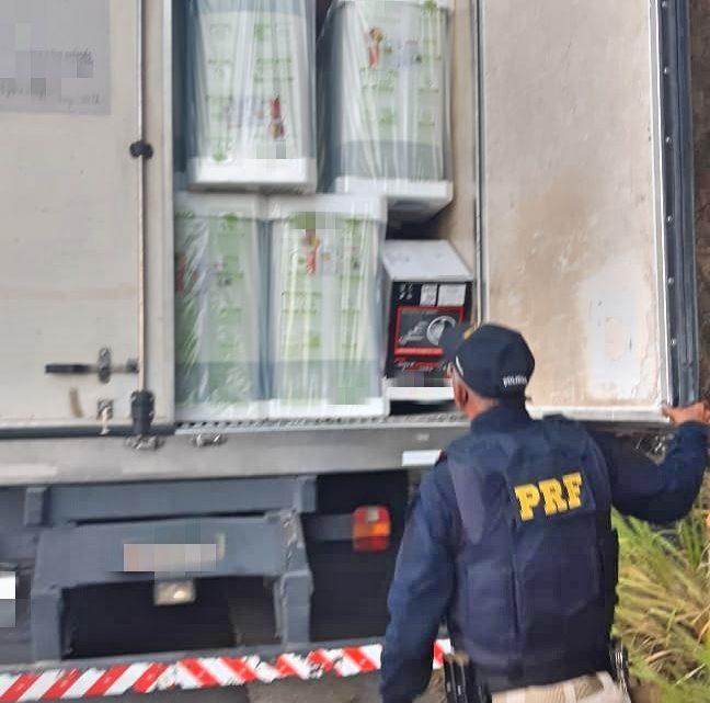 Grupo é detido na BR-232 com carga de eletrodomésticos roubada