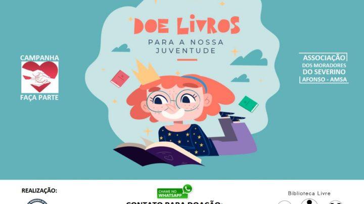 Campanha de Doação de livros  é realizada pela AMSA em Caruaru