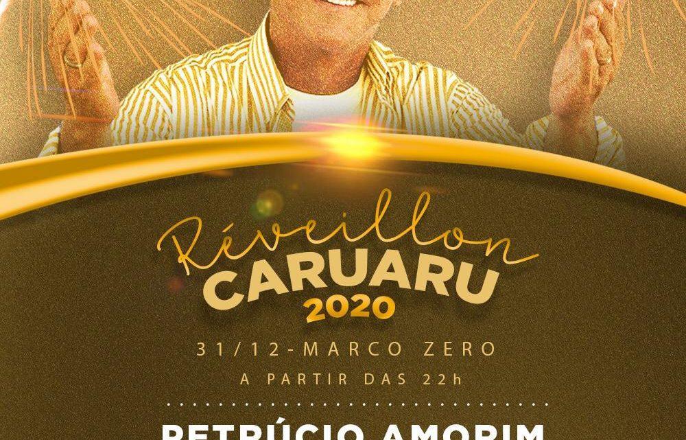 Réveillon de Caruaru contará com show de Petrúcio Amorim no Marco Zero