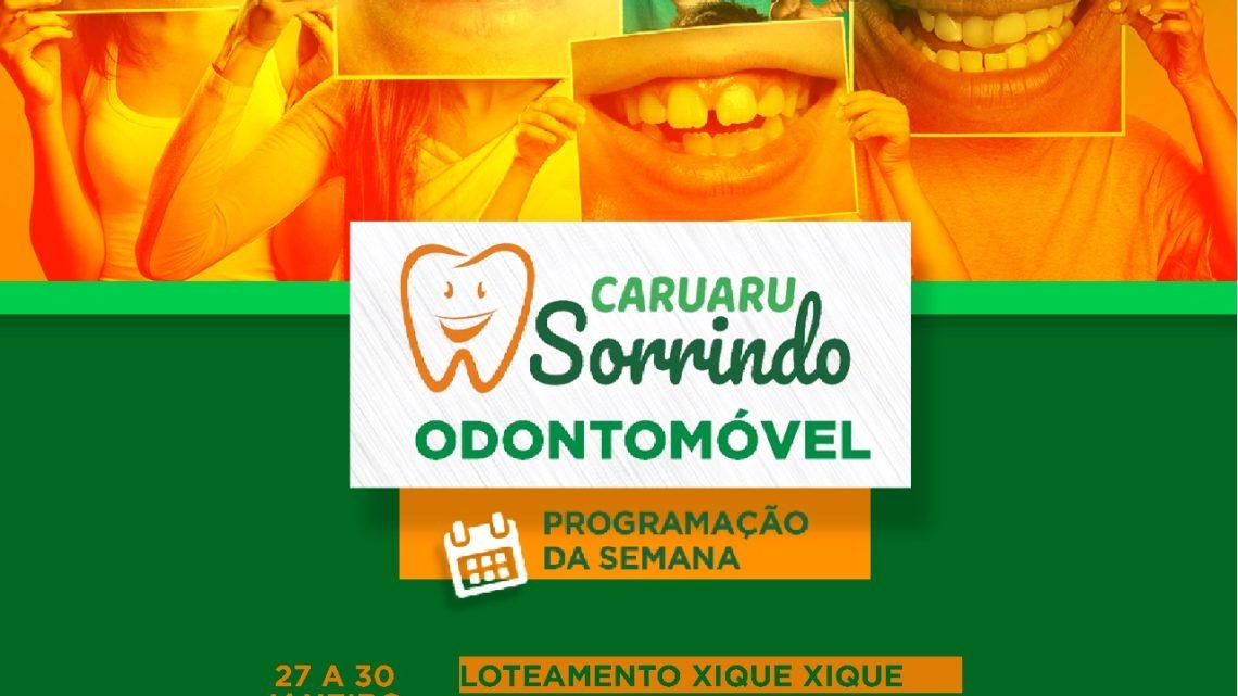 Moradores do Residencial Xique-Xique recebem os serviços do Odontomóvel
