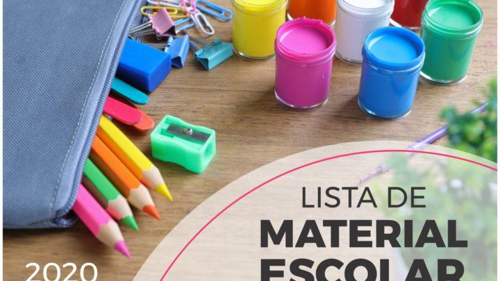 Saiba o que os gestores podem solicitar na lista de material escolar