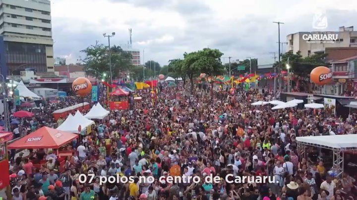 Caruaru se transformou na capital do frevo e da folia