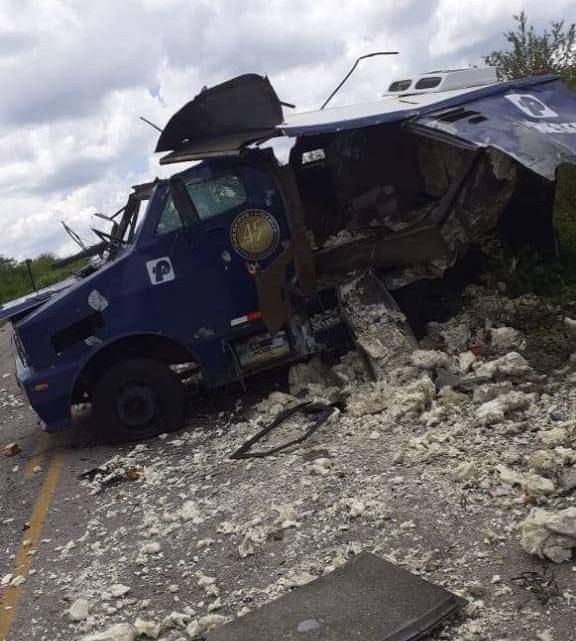 Assaltantes explodem carro-forte na PE-507 no Sertão de Pernambuco