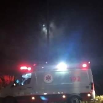 Homem é morto a tiros dentro de ambulância na BR-104 quando era socorrido para o HRA
