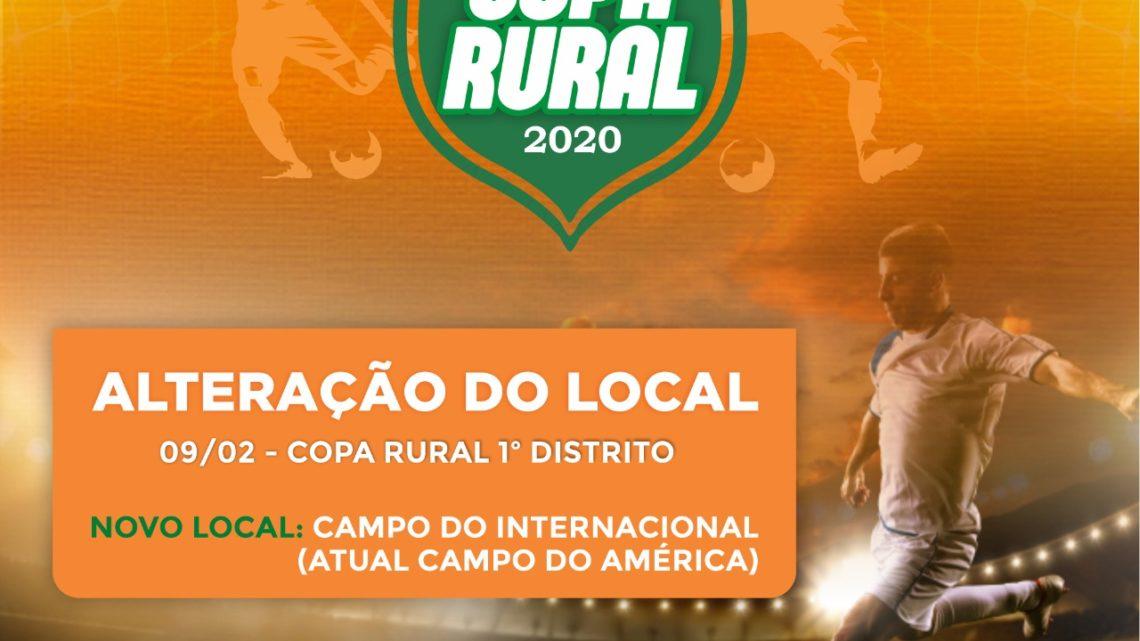 Copa Rural de Futebol Amador será realizada nos quatro distritos de Caruaru