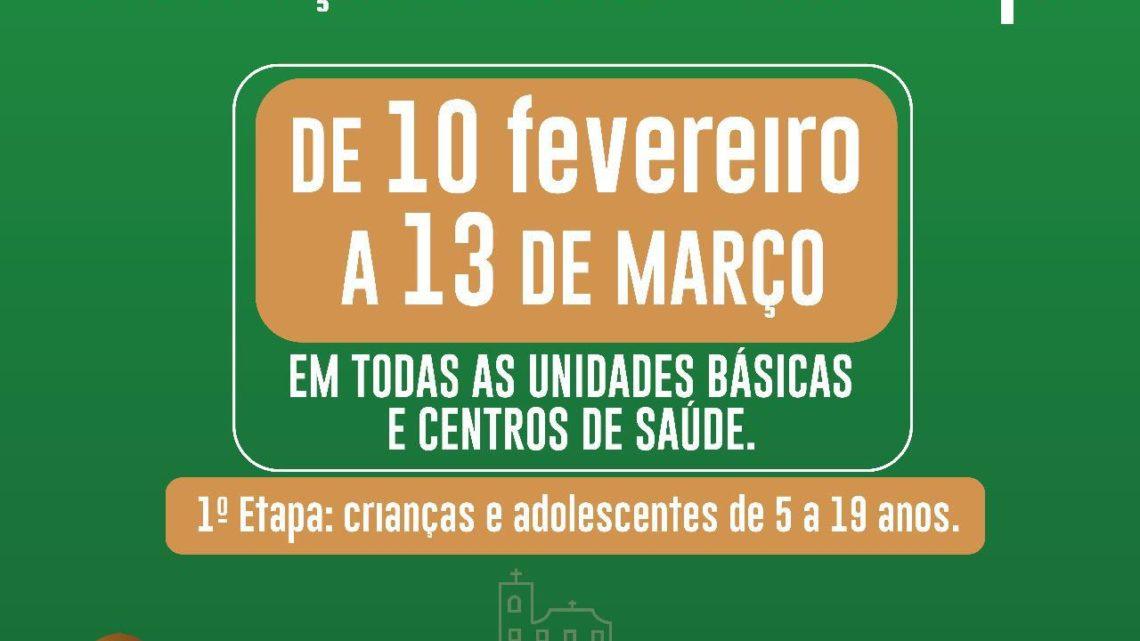 Tem início hoje (10) 1º etapa da Campanha Nacional de Vacinação contra Sarampo