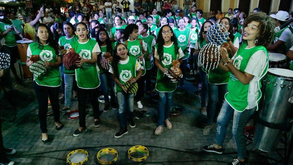 """""""Tambores de Caruaru"""" reunirá mais de 200 percussionistas nesta sexta (14)"""