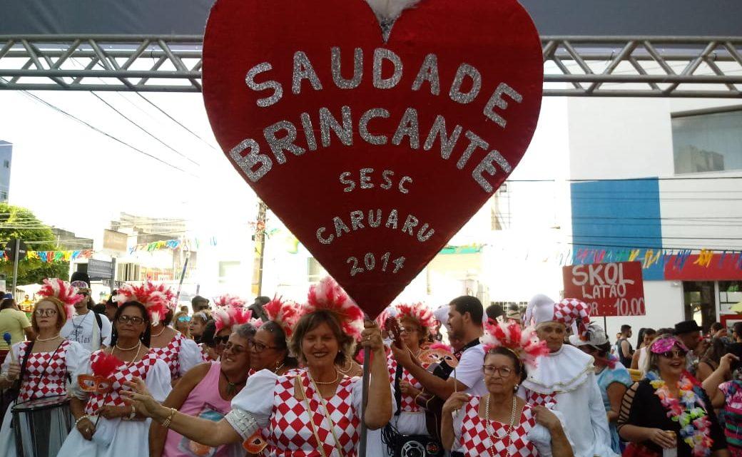 Bloco Lírico do Sesc Caruaru faz apresentações em carnavais do Agreste