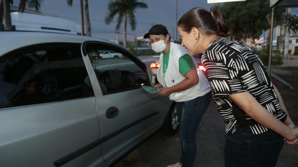 Barreiras Sanitárias Educativas de Caruaru orientam passageiros de grupos de risco a voltar para suas cidades