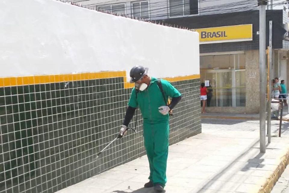 Operação Desinfecção é iniciada pelas ruas de Toritama