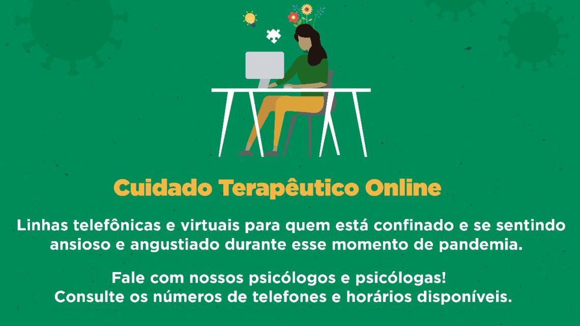Secretaria de Saúde de Caruaru disponibiliza atendimento psicológico online