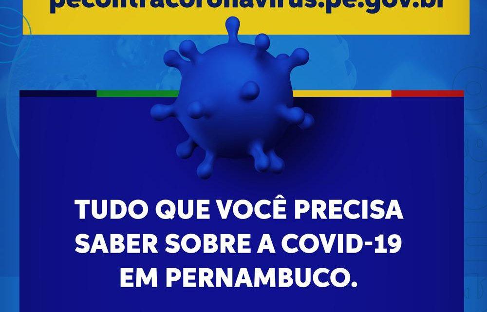 Governo de Pernambuco reforça comunicação educativa no combate ao novo coronavírus
